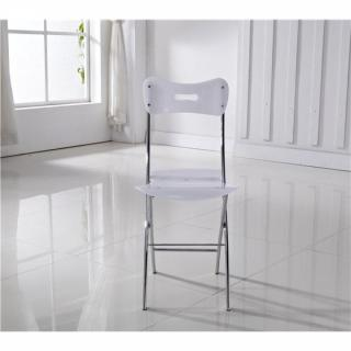 Lot de 2 chaises WIDOW design en plexiglas blanche.