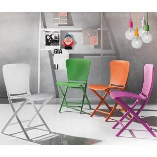 Lot de 2 chaises pliante ZAK design vert