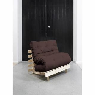 fauteuils futon canap s et convertibles fauteuil bz style scandinave roots natural futon. Black Bedroom Furniture Sets. Home Design Ideas
