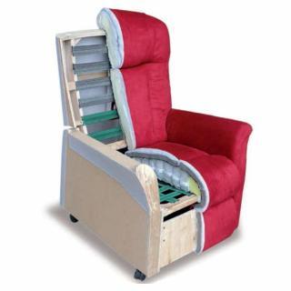 FREEDOM fauteuil relax et releveur électrique (mono-moteur) microfibre gris