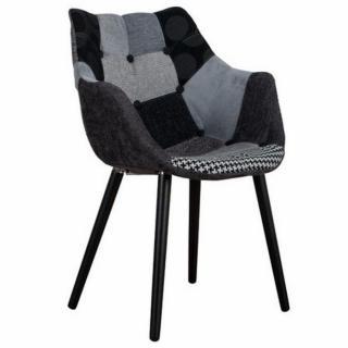Fauteuils canap s fixes et fauteuils - Chaise eleven patchwork colors ...