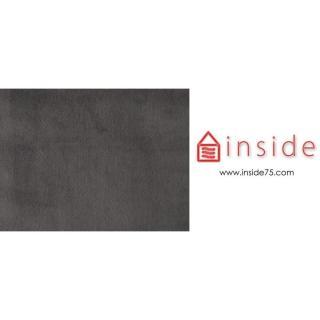 INNOVATION LIVING VILI Méridienne grise 200*80 cm piétement métallique noir