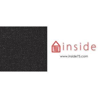 Méridienne design VILI GRID 200*80 cm piétement métallique noir