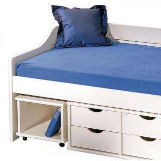 lits tiroirs rangement chambre literie lit banquette floro multi rangements en pin massif. Black Bedroom Furniture Sets. Home Design Ideas