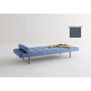 Méridienne lit design NAPPER STEM convertible 200*80 cm piétement chêne