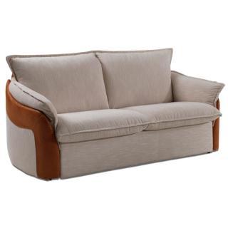 Détails NATURA Canapé lit RAPIDO Convertible 120 cm cuir ou tissu