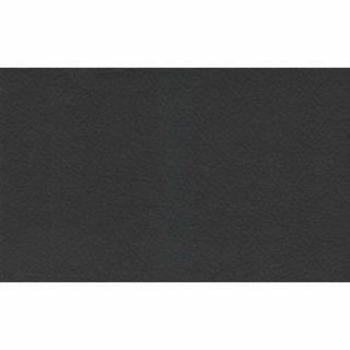 Canapé d'angle  convertible PARIGI en tissu enduit polyuréthane simili façon cuir noir + coffre