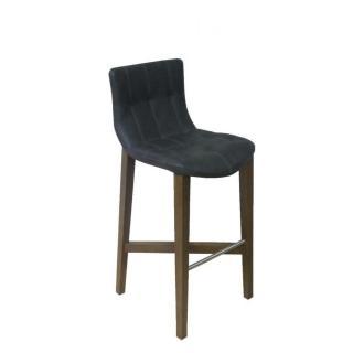 Tabourets de bar tables et chaises - Tabouret de bar bois et cuir ...