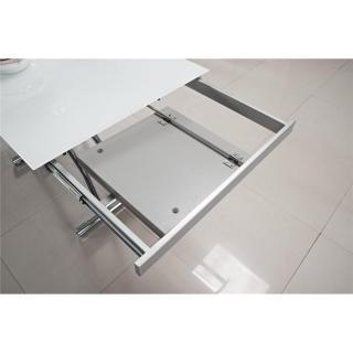 Tables relevables tables et chaises table basse jump - Table extensible verre ...