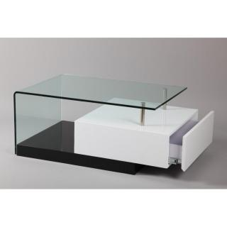 Tables basses tables et chaises table basse trunk en - Petite table basse verre ...