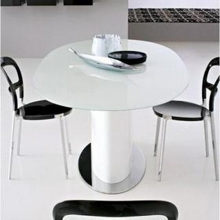 Canap s convertibles canap s et convertibles calligaris table repas ovale e - Table ovale verre extensible ...