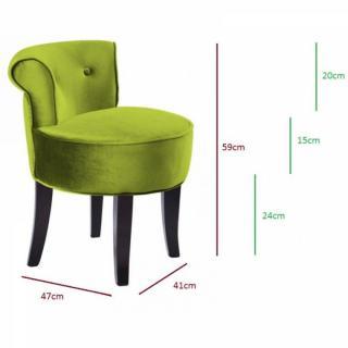 fauteuils et poufs meubles et rangements petit fauteuil design crapaud versailles en velours vert. Black Bedroom Furniture Sets. Home Design Ideas