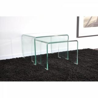 Tables gigognes tables et chaises - Table gigogne transparente ...
