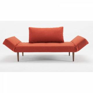 Canape lit design ZEAL DUDOS orange mix dance convertible 200*80cm