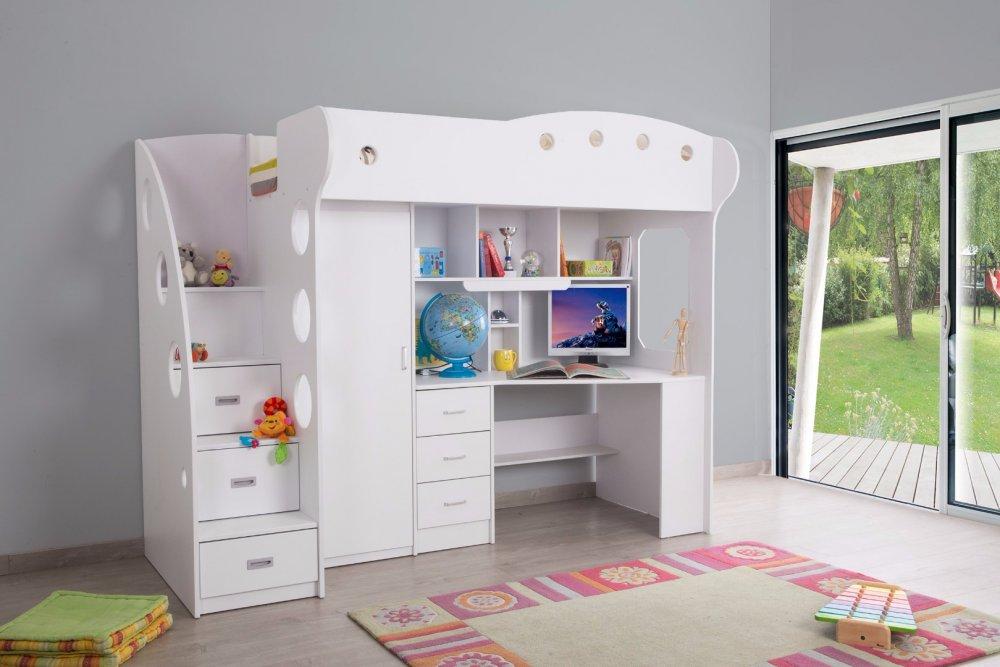 Le lit mezzanine parfait pour une chambre denfant