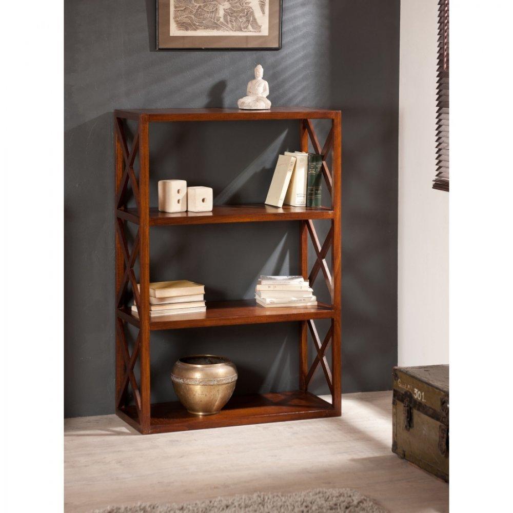 biblioth ques tag res meubles et rangements biblioth que croisillons lauren 3 tag res en. Black Bedroom Furniture Sets. Home Design Ideas