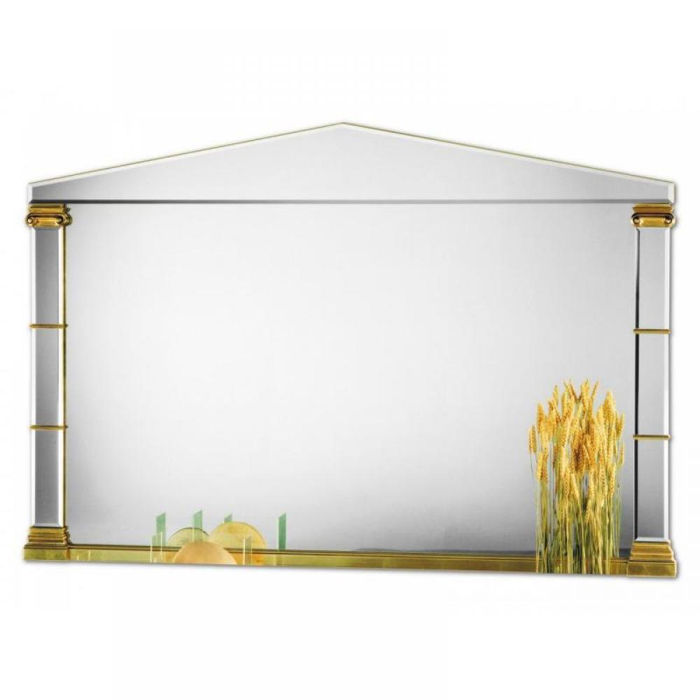 Miroirs meubles et rangements acropole miroir mural for Meuble mural en verre