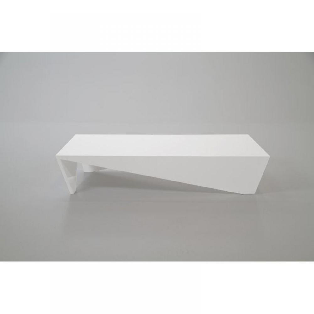 Table basse carr e ronde ou rectangulaire au meilleur prix allegria table b - Table basse blanc laque design ...