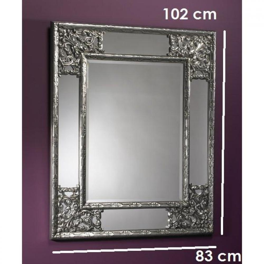 miroirs meubles et rangements angel miroir mural design argent inside75. Black Bedroom Furniture Sets. Home Design Ideas