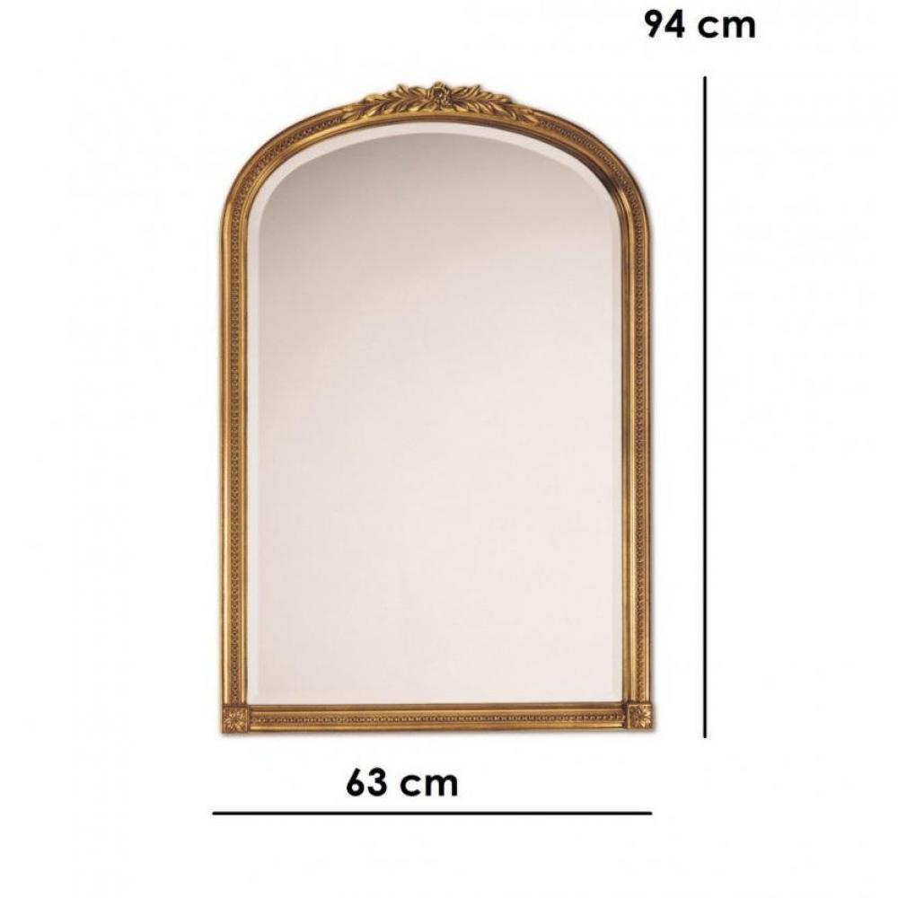 Miroirs luminaires arche miroir mural design or inside75 for Miroir mural design