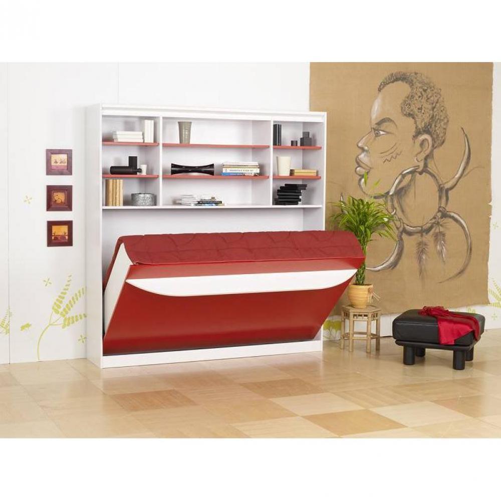 Armoire Lit Escamotables Au Meilleur Prix Lit Escamotable 120 Cm Transversale Studio 2000