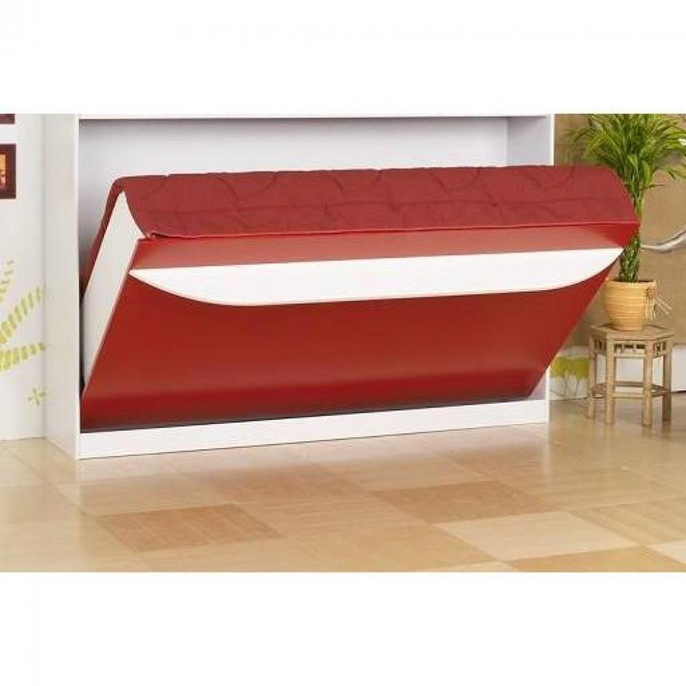 armoire lit escamotables au meilleur prix lit escamotable 90 cm transversale studio 2000. Black Bedroom Furniture Sets. Home Design Ideas