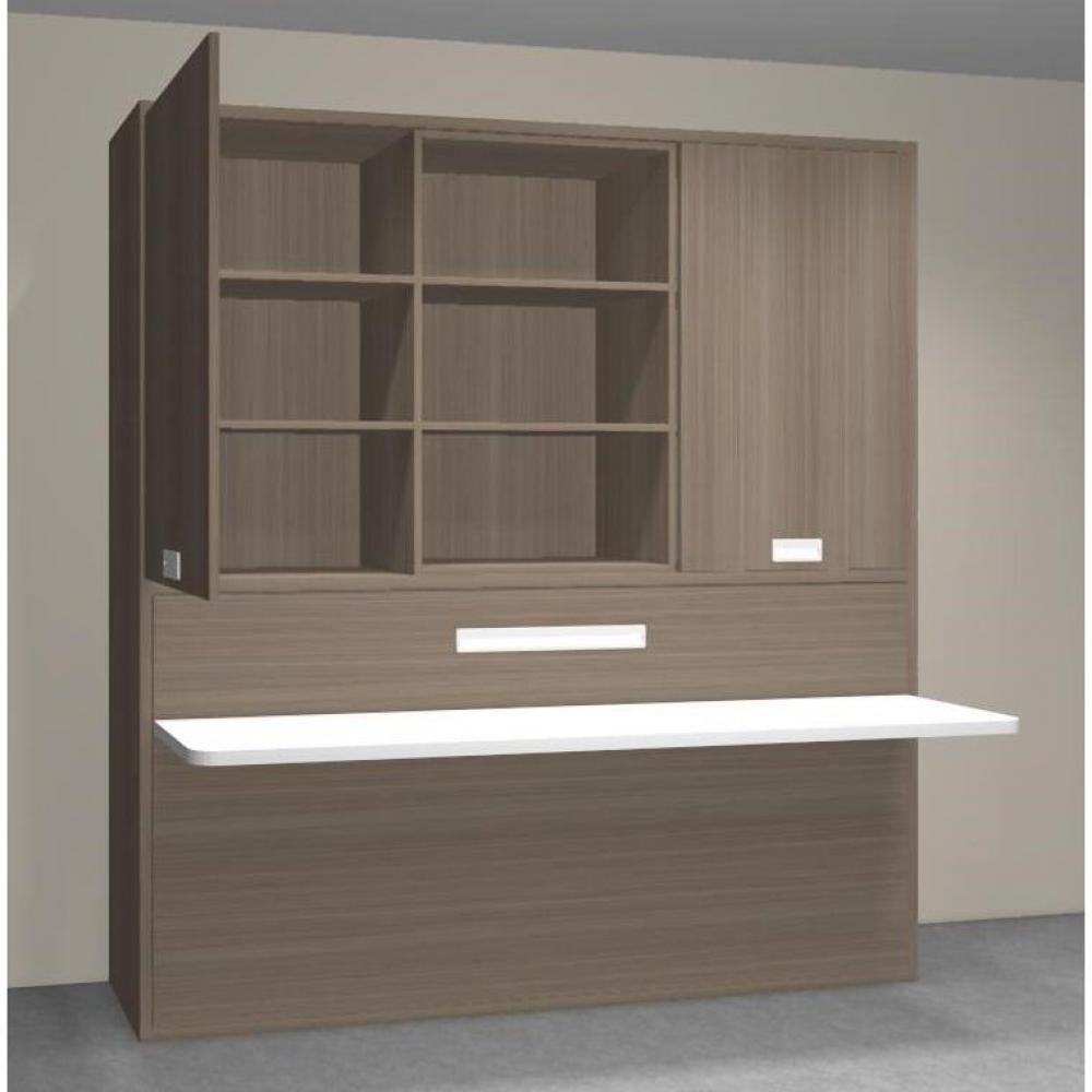 armoire lit simple escamotable 1 personne au meilleur prix stella armoire lit transversale avec. Black Bedroom Furniture Sets. Home Design Ideas
