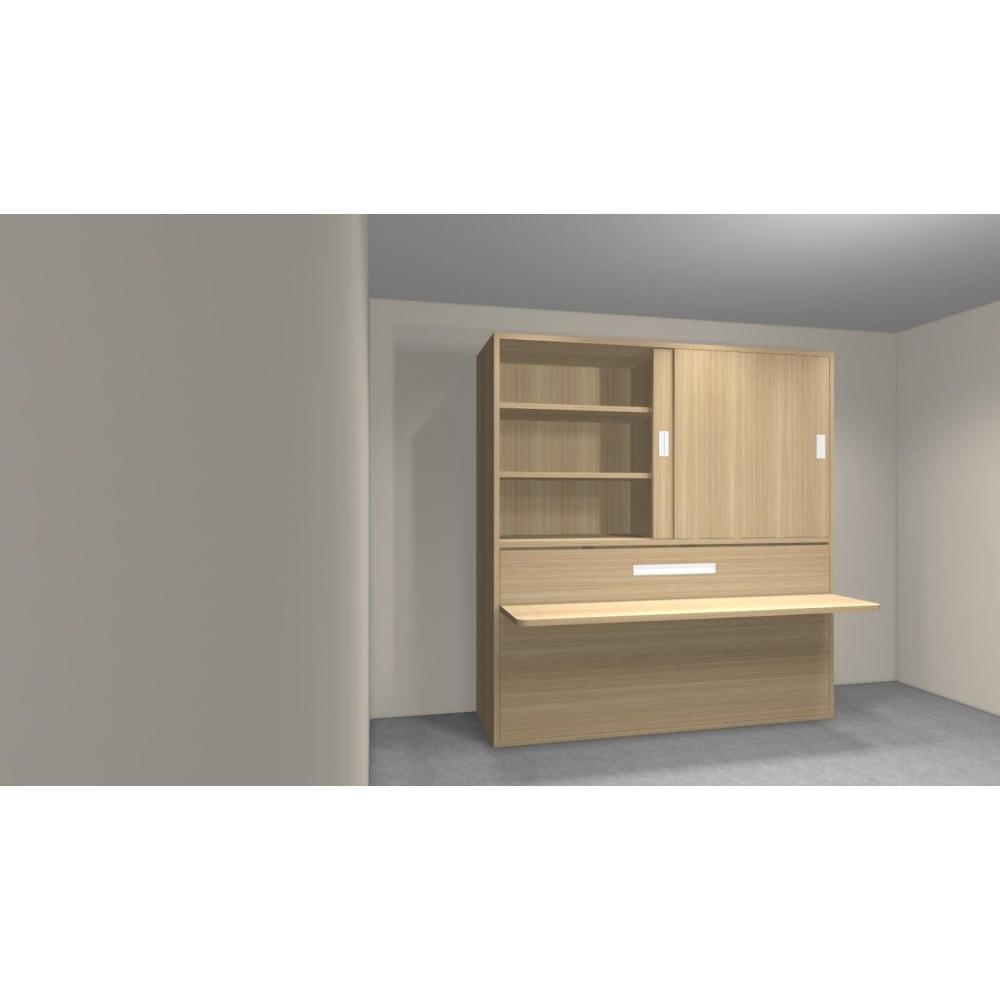 armoire lit simple escamotable 1 personne au meilleur prix armoire lit transversale accura. Black Bedroom Furniture Sets. Home Design Ideas