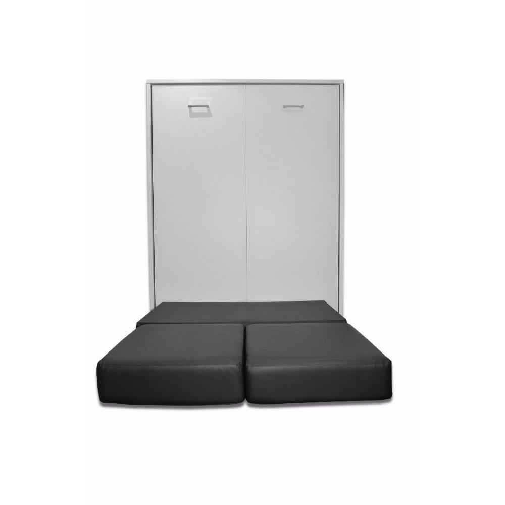 armoire lit escamotable avec canap int gr au meilleur. Black Bedroom Furniture Sets. Home Design Ideas
