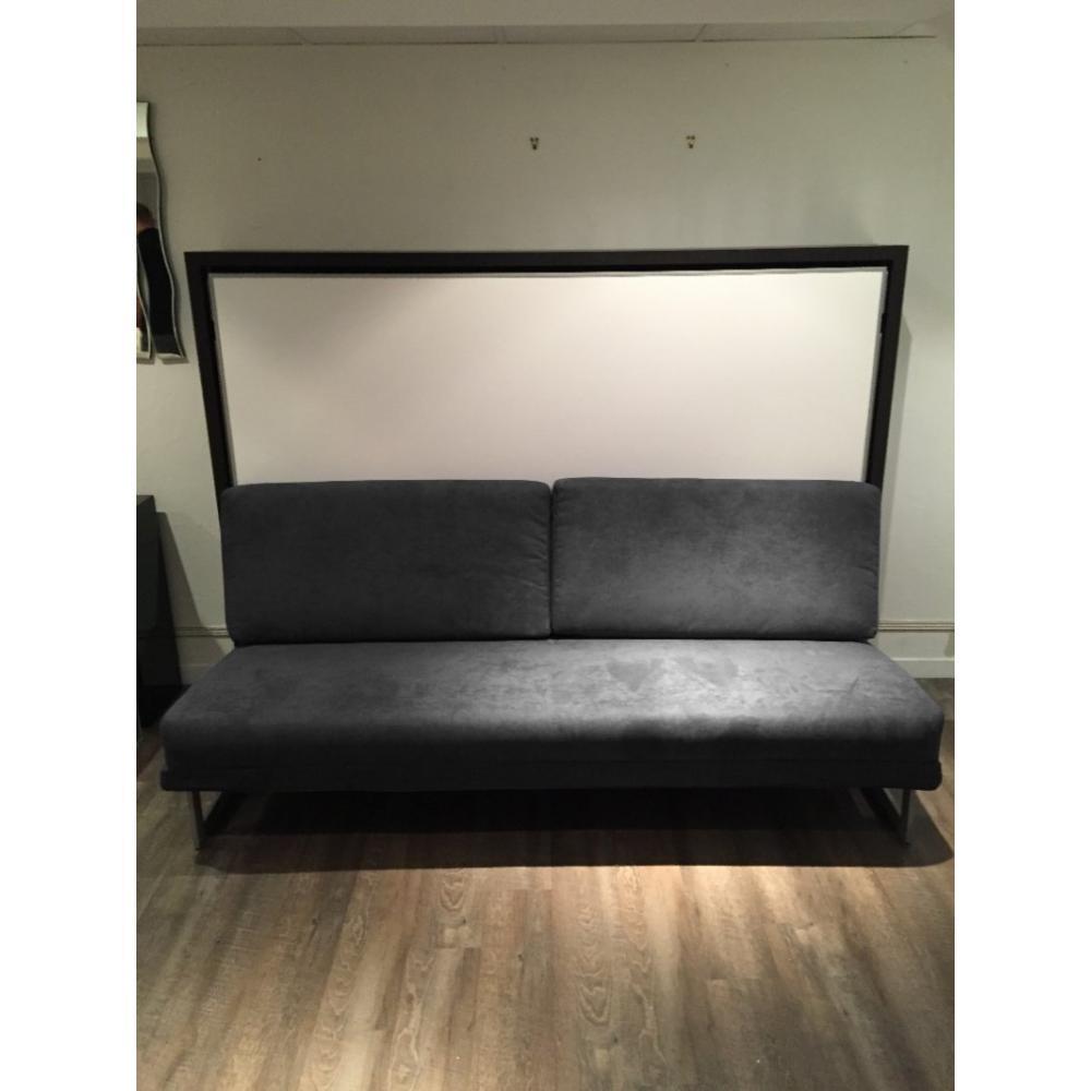 Armoire lit escamotable avec canap int gr au meilleur - Canape lit haut de gamme ...
