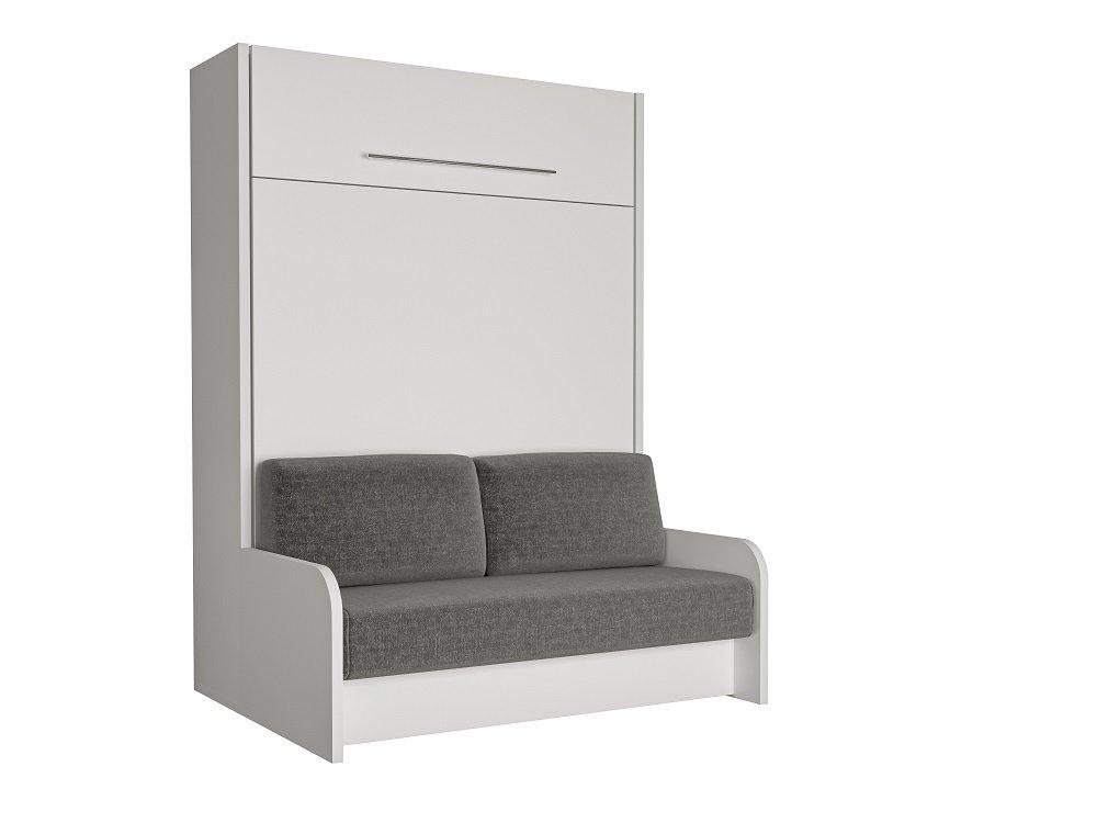 Armoire lit escamotable avec canap int gr au meilleur prix space sofa fast armoire lit - Lit canape escamotable ...
