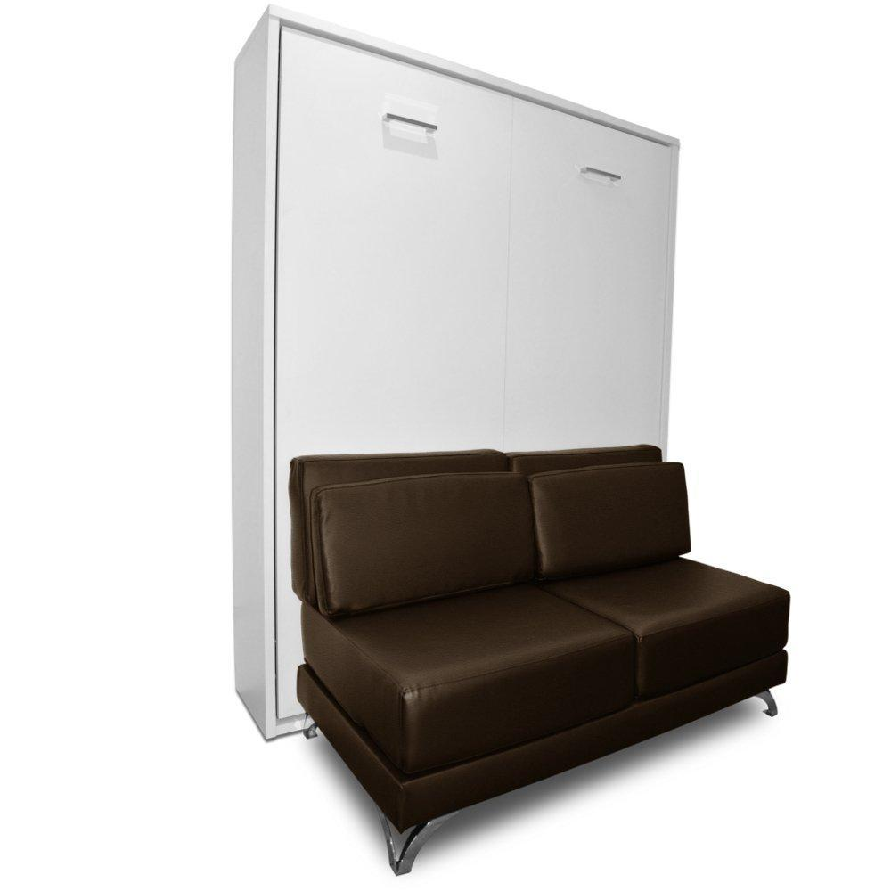 armoire lit escamotable avec canap int gr au meilleur prix armoire lit escamotable town. Black Bedroom Furniture Sets. Home Design Ideas