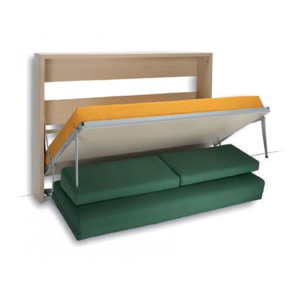 Canap s rapido convertibles design armoires lit escamotables et dressing paris armoire lit for Armoire lit canape