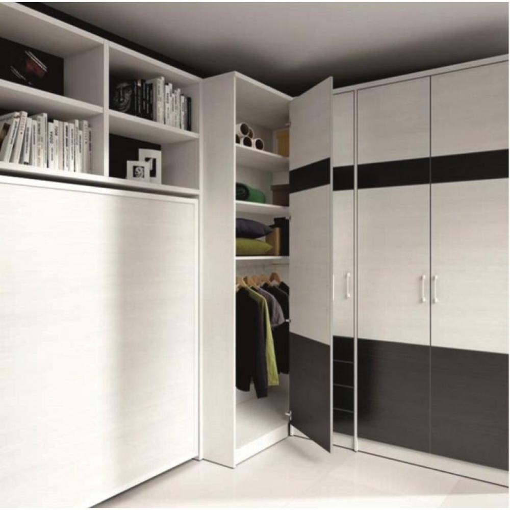 armoire lit escamotable horizontale transversale au meilleur prix armoire lit escamotable. Black Bedroom Furniture Sets. Home Design Ideas