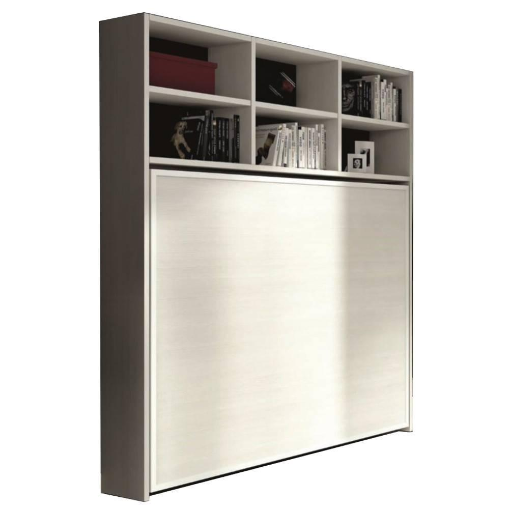 armoire lit escamotable horizontale transversale au. Black Bedroom Furniture Sets. Home Design Ideas