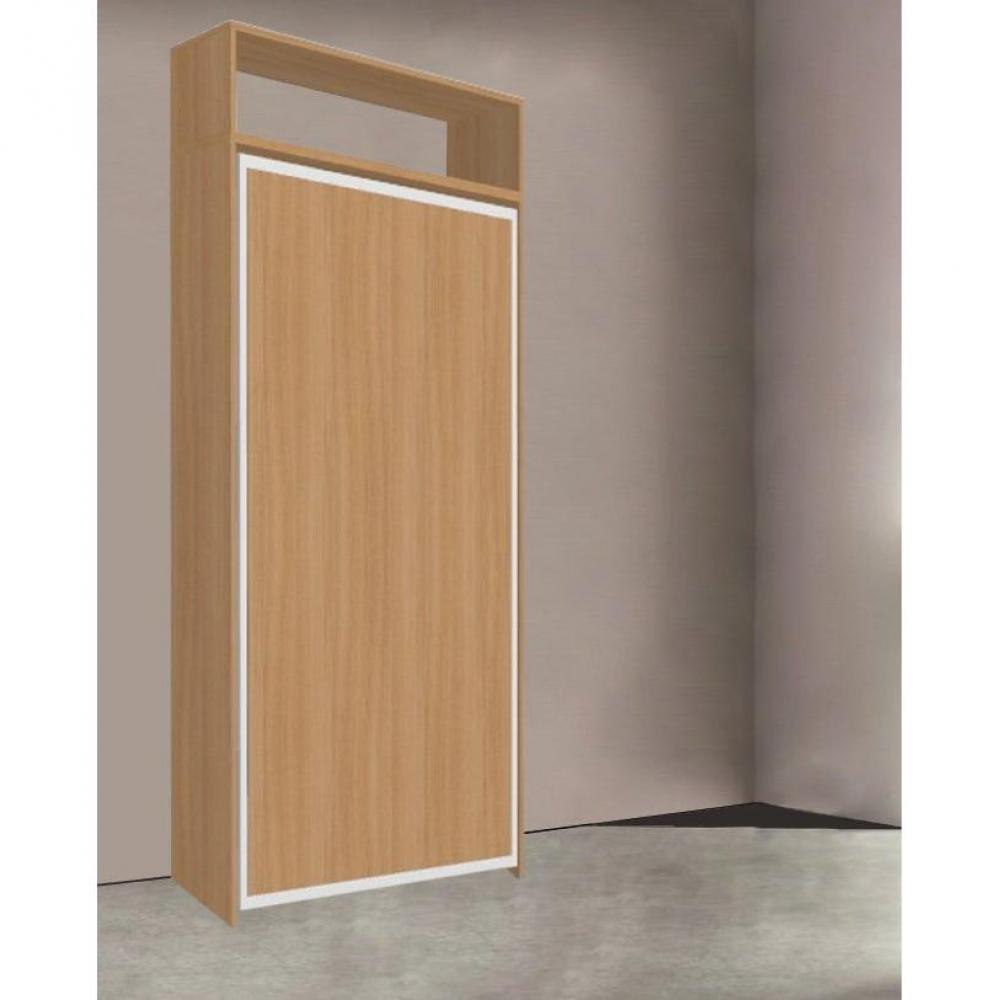 armoire lit escamotables au meilleur prix armoire lit escamotable atlas cerisier couchage 90. Black Bedroom Furniture Sets. Home Design Ideas