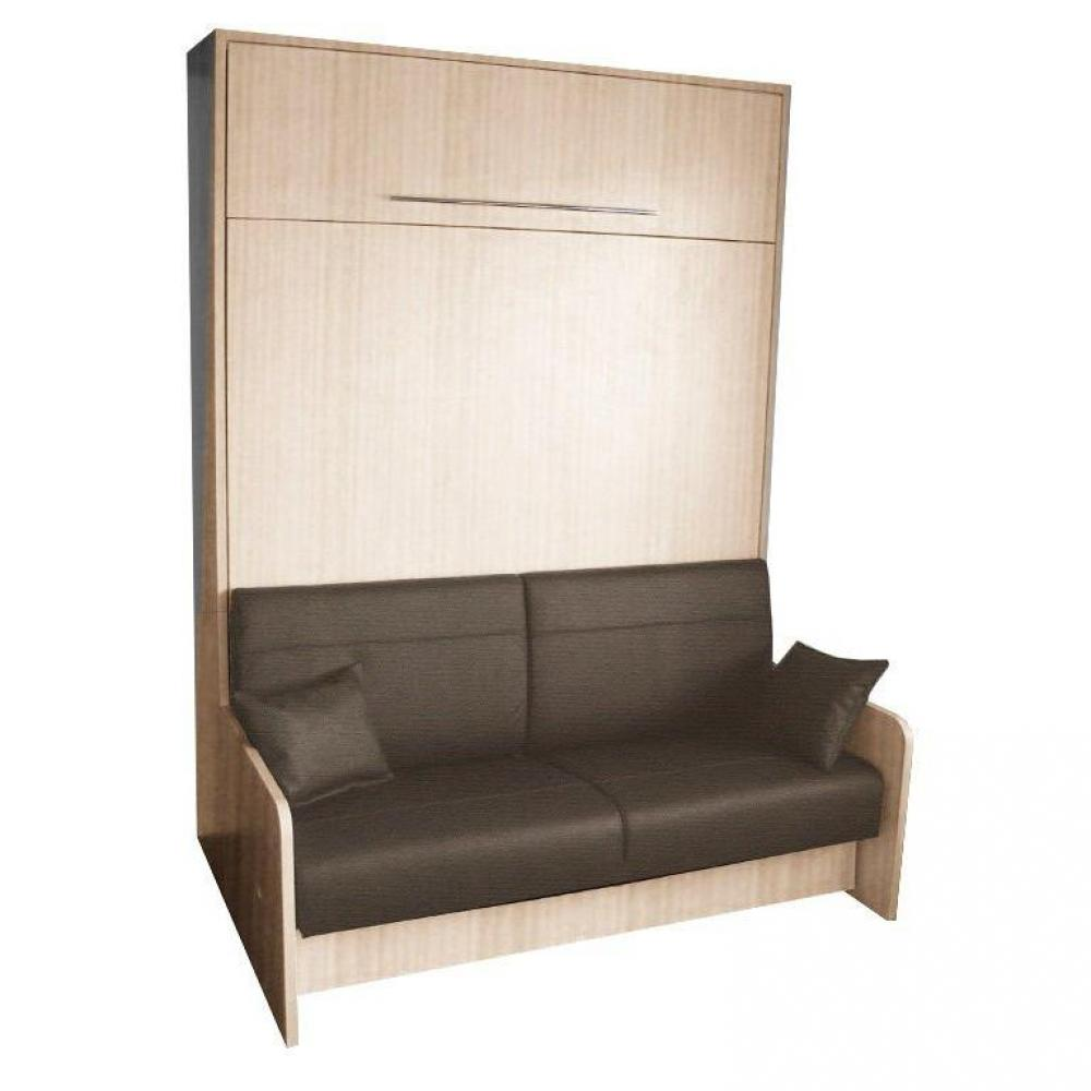 armoire lit escamotable avec canap int gr au meilleur prix armoire lit escamotable space sofa. Black Bedroom Furniture Sets. Home Design Ideas