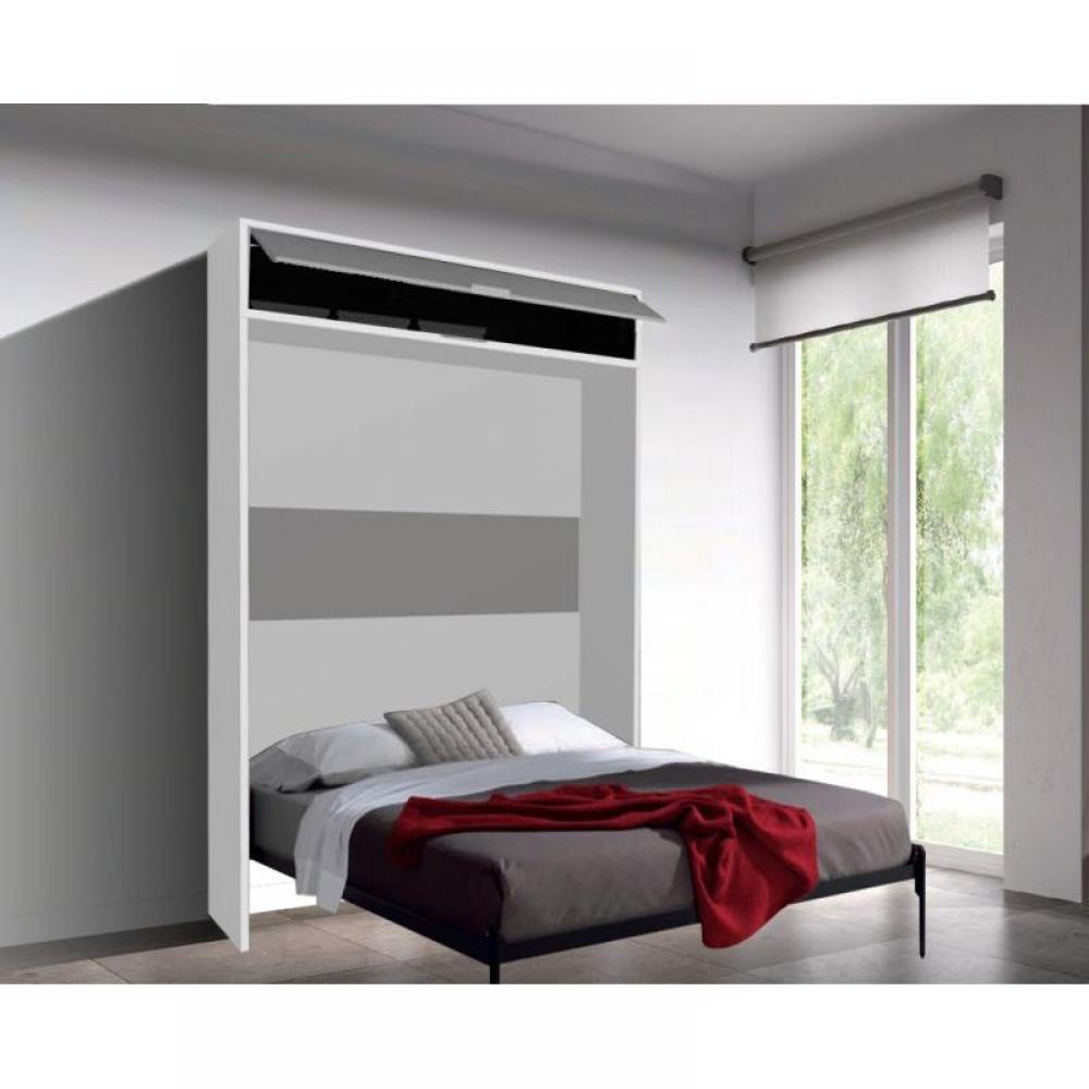 Armoire lit escamotable verticale au meilleur prix - Lit armoire escamotable electrique ...