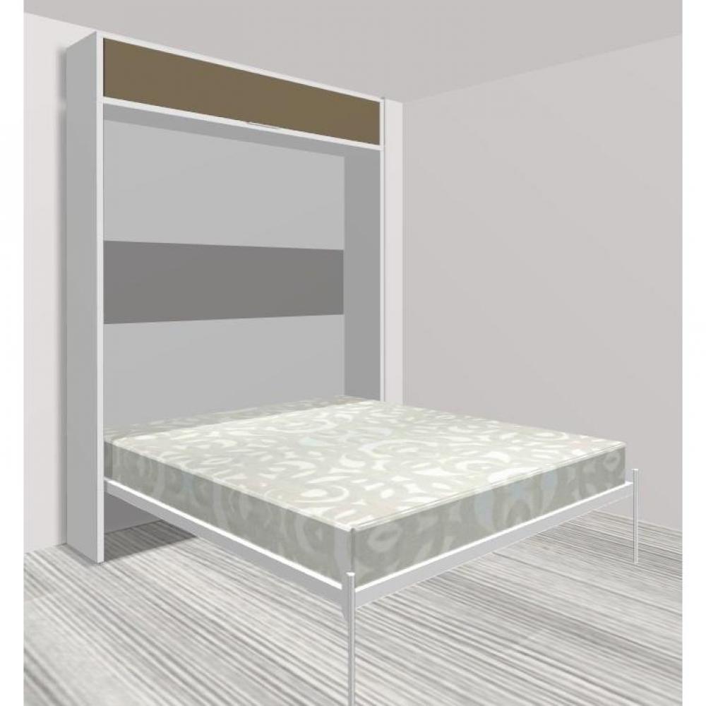 Armoire lit escamotable verticale au meilleur prix armoire lit escamotable e - Structure lit escamotable ...