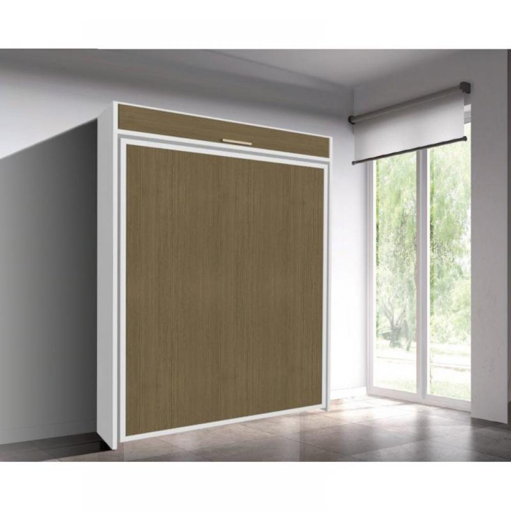 armoire lit escamotable verticale au meilleur prix armoire lit escamotable eos couchage 160. Black Bedroom Furniture Sets. Home Design Ideas