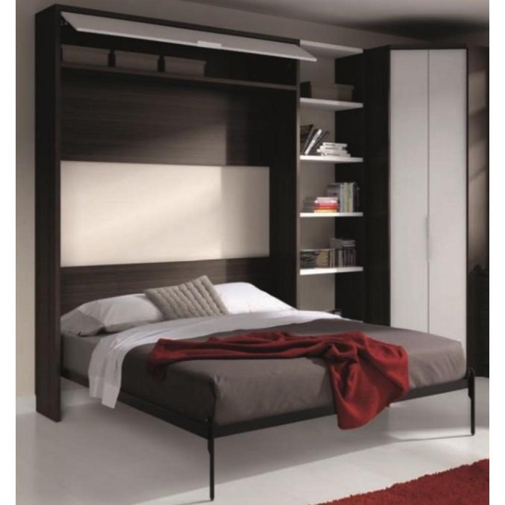 armoire lit escamotable verticale au meilleur prix armoire lit escamotable eros couchage 140. Black Bedroom Furniture Sets. Home Design Ideas