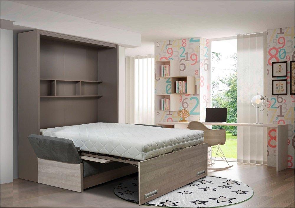 Armoire lit escamotable verticale au meilleur prix ...