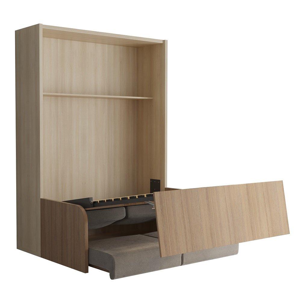 armoire lit escamotable avec canap int gr au meilleur prix space sofa armoire lit escamotable. Black Bedroom Furniture Sets. Home Design Ideas