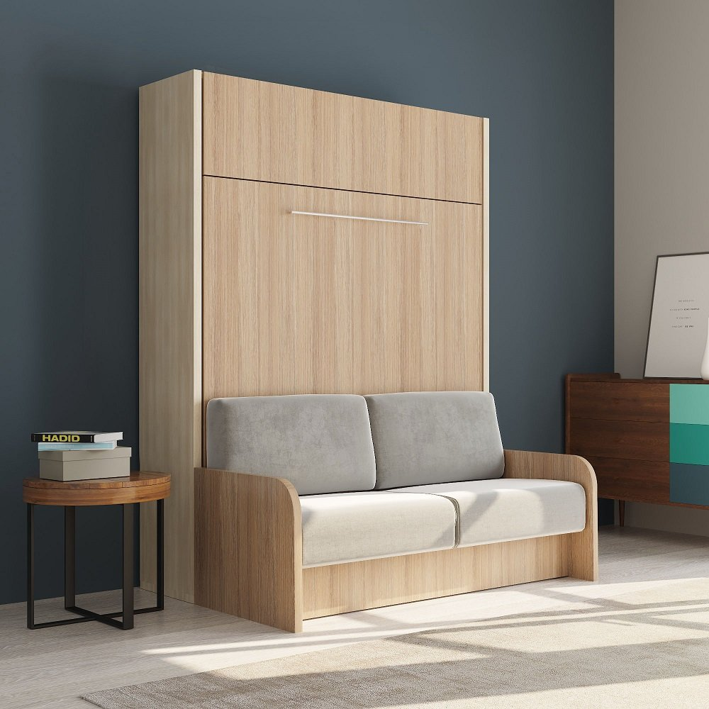 armoire lit escamotable avec canap int gr au meilleur prix space sofa armoire lit escamotable. Black Bedroom Furniture Sets. Home Design Ideas