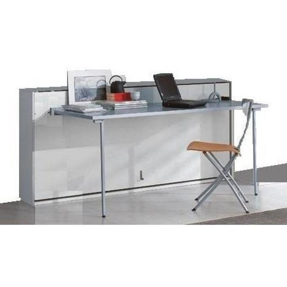 armoire lit escamotable combin bureau au meilleur prix. Black Bedroom Furniture Sets. Home Design Ideas