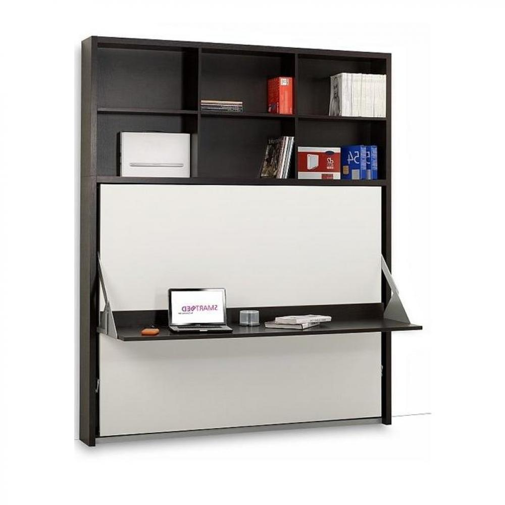 armoire lit escamotable combin bureau au meilleur prix. Black Bedroom Furniture Sets. Home Design Ideas