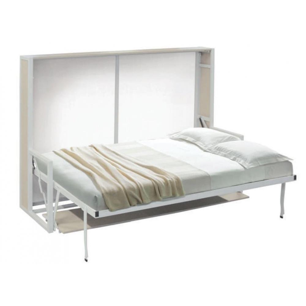 armoire lit escamotable combin bureau au meilleur prix inside75. Black Bedroom Furniture Sets. Home Design Ideas
