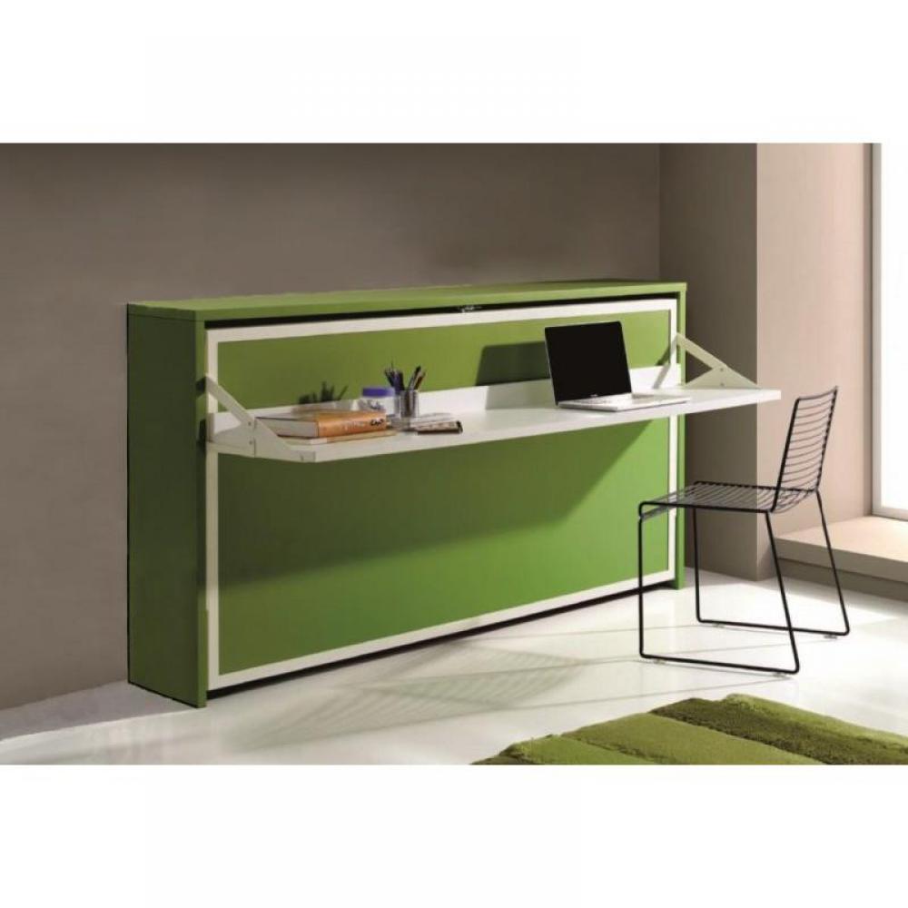 armoire lit escamotable combin bureau au meilleur prix armoire lit transversale city avec. Black Bedroom Furniture Sets. Home Design Ideas