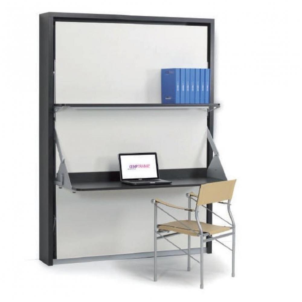 armoire lit escamotables au meilleur prix armoire lit verticale garry couchage 140 200 cm. Black Bedroom Furniture Sets. Home Design Ideas