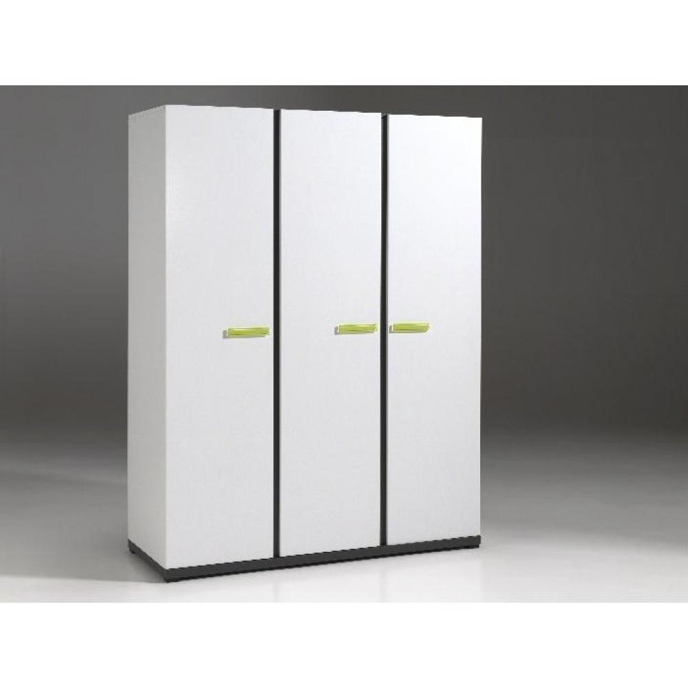 Dressings et armoires chambre literie armoire penderie for Armoire penderie 3 portes